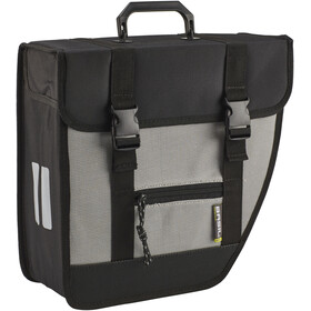 Basil Tour Single Bolsa Lateral 17l, Derecha, black/silver